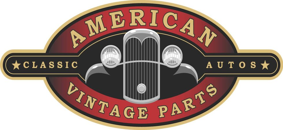 American vintage parts classic auto parts for American classic logo