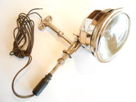 Vintage Antique Spotlight DLite D-EE Driving Fog Light Art Deco Rare Cadillac