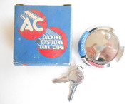 1957 1958 Buick Chrysler Plymouth Dodge AC GTL-19 Locking Gas Fuel Cap Cover NOS