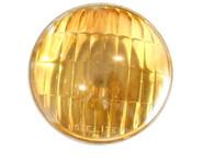 Vintage Corcoran Brown AMBER GLASS Fog Lamp Light Lens NOS Pontaic Olds
