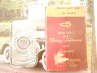 1942 Dodge Parking Light Lens EDH NOS 42