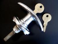 1930s NOS Locking Rumble Seat Trunk Deck Lid Handle w/ Keys Hupmobile Hudson