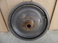 1927 PEERLESS 1928 GRAHAM STEEL DISC ARTILLERY FRONT WHEEL W/ BRAKE DRUM 19 X 4