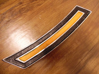 1920 's HUPMOBILE BUMPER BOLT MEDALLION GUARD EMBLEM MOULDING 27 28 29