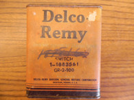 1940 's 1950 s FARM TRACTOR STARTER SWITCH MASSEY JOHN DEERE DELCO REMY 1883561