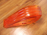 NOS 1938 1939 1940 RH GRAHAM SHARKNOSE ORANGE TAIL LIGHT LENS LEPUS