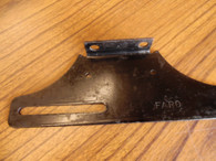 NOS FACTORY STOCK 1934 GRAHAM REAR LICENSE PLATE BRACKET