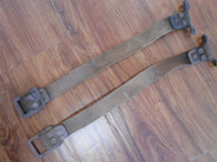 1916 Woods Mobilette Rear Back of Seat Top Cloth Strap Bracket Hold Down
