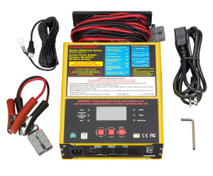 BatteryMINDer® 28252-AA: 24-Volt @ 25- Amp Ground Support Power Supply-Fast Charger-Maintainer-Desulfator (Worldwide Usage)
