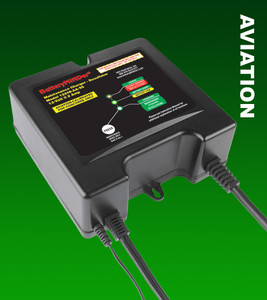 BatteryMINDer 12248-AA-S5: 12 Volt 8 Amp Aircraft Battery Charger/Maintainer/Desulfator