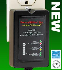 BatteryMINDer Model 1510-OBD2: 12Volt 1.5 Amp Maintenance Charger/Desulfator Including a 10 Year Warranty