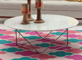 Cosmopolitan Marble Coffee Table