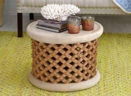 Bamileke Side Table in Natural