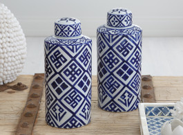 Santorini Temple Jars