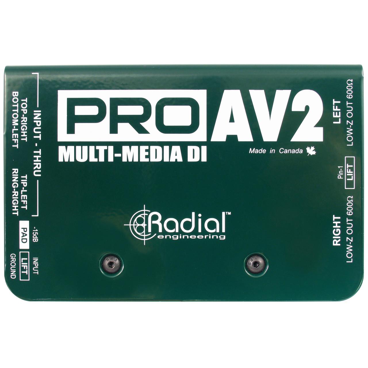 Pro AV2 (Top)
