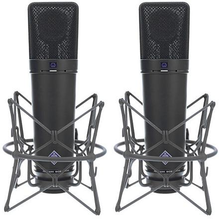 U87ai Stereo Pair (Black)