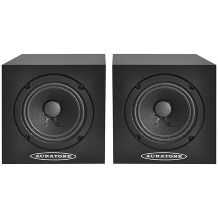 5C Sound Cubes Black (Front)