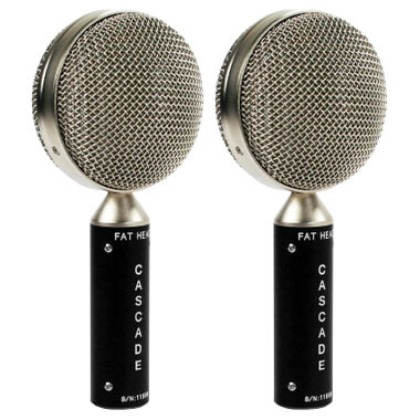 Fat Head Pair (Black/Silver)