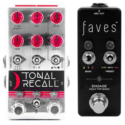 Tonal Recall Red Knob & Faves
