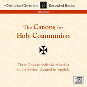 The Canons for Holy Communion (CD)