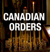 Jordanville Candles - Standard size Cases ($11/pound) (Canadian Orders)