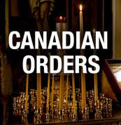 Jordanville Candles - Standard size Cases ($11/pound) (Canadian Orders)
