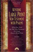 The Large Print New Testament with Psalms