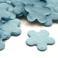 Flower Shaped Plantable Confetti - Cornflower Blue