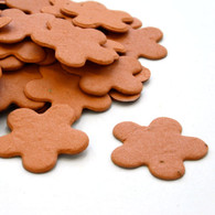 Flower Shaped Plantable Confetti - Burnt Orange
