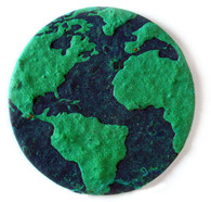 """Earth 3 Eco-Friendly Plantable Seed Paper Shape (2.625"""" Size)"""