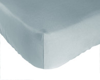 Sky Blue Bamboo Crib Sheet Eco Friendly, Hypo-Allergenic, Super Soft and Durable
