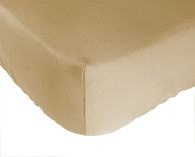 Champagne Brown Bamboo Crib Sheet Eco Friendly Naturally Hypo-Allergenic Super Soft Durable