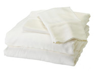 White Bamboo Sheet Set