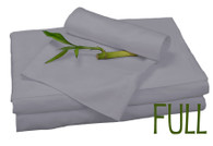 Full Bamboo Sheet Set in Platinum, Eco Friendly Hypoallergenic