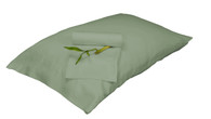 Sage Green 100% Bamboo Pillowcase Set Eco Friendly Hypoallergenic
