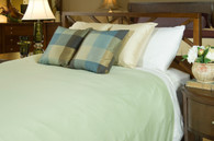 White Sage 100% Bamboo Duvet Cover Hypoallergenic Eco Friendly