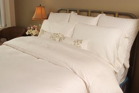 White White 100% Bamboo Duvet Cover Hypoallergenic Eco Friendly
