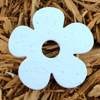 "Blue Daisy Flower 3"" Plantable Wildflower Seeded Paper Favor Shape"