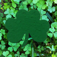 "Celtic Shamrock 3"" x 2.5"" Irish Blessing Plantable Wildflower Seeded Paper Favor Shape"