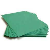 "Teal Plantable Wildflower Seed Seeded Paper Sheets - 8.5"" x 11"""