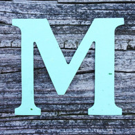 "Letter M Monogram Plantable Recycled Seeded Paper Shape - 2.5"" Tall"