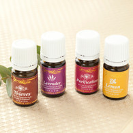 Fabulous Four Essential Oil Collection by Young Living