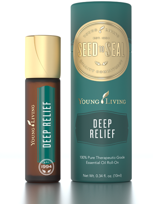 Deep Relief Roll-on Essential Oils by Young Living New Packaging