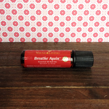 Breathe Again Roll On 10 Ml Essential Oils By Young Living