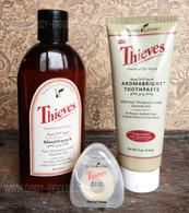 Thieves Oral Care Essential Oil Kit - Young Living