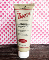 Thieves AromaBright Toothpaste - 4 oz - Young Living Essential Oil