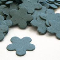 Flower Shaped Plantable Confetti - French Blue