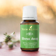 Stress Away Essential Oil Blend 15 ml - Young Living 100% Pure Therapeutic Grade Sleep, Relaxation