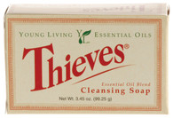 Thieves Cleansing Bar Soap  - Young Living Essential Oil 3.5 oz Bar for Sensitive Skin