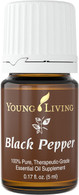 Black Pepper Essential Oil 5ml Bottle - Young Living